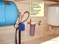Водопровод от скважины или колодца_1