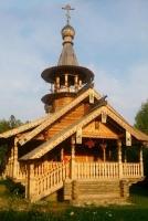 Церковь Серафима Саровского в поселке Чаща